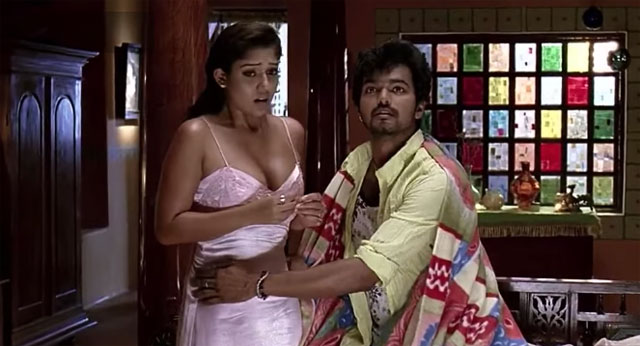 Nayanthara Censored Scene From Villu Movie