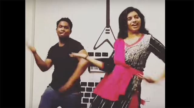 Eruma Saani Vijay & Harija Dances for Jimikki Kammal