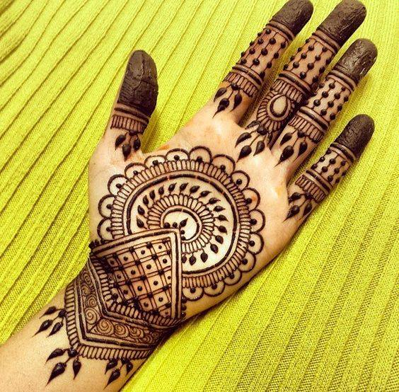 Top 20 Traditional Hand Mehandi Design For Marriage