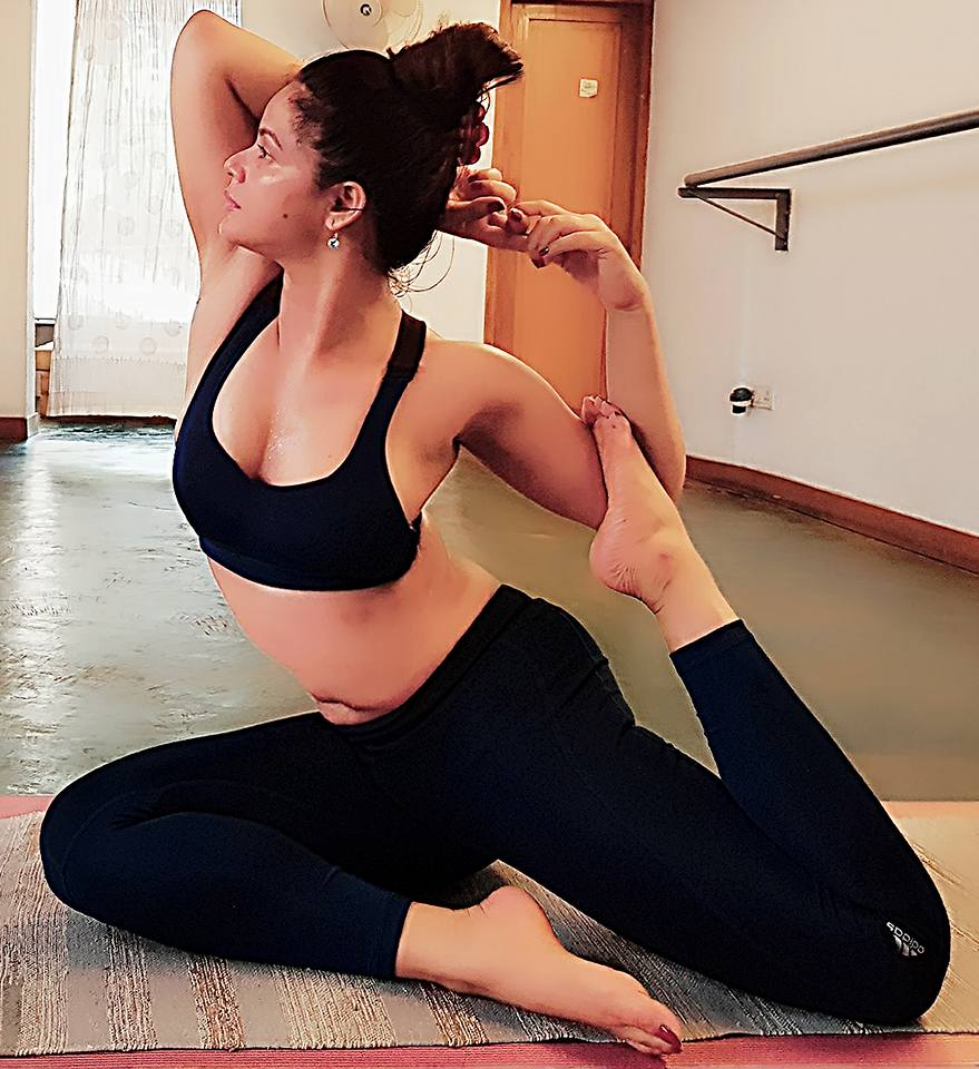 Neetu Chandra Yoga Stills