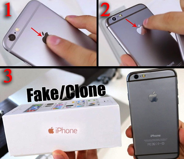 Find The Original and Fake iphone
