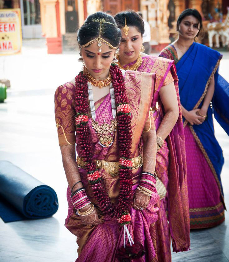 Why We Wear  Silk Sari to the Wedding?