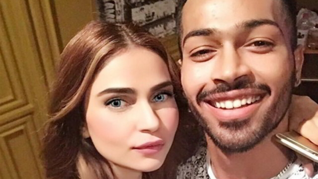10 Pictures Of Hardik Pandya Girl Friend Lisha Sharma Photos