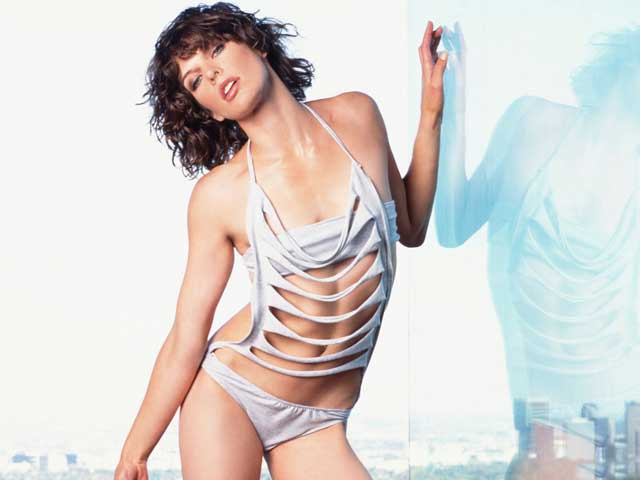 Top 20 Hottest Photos Resident Evil Actress Milla Jovovich