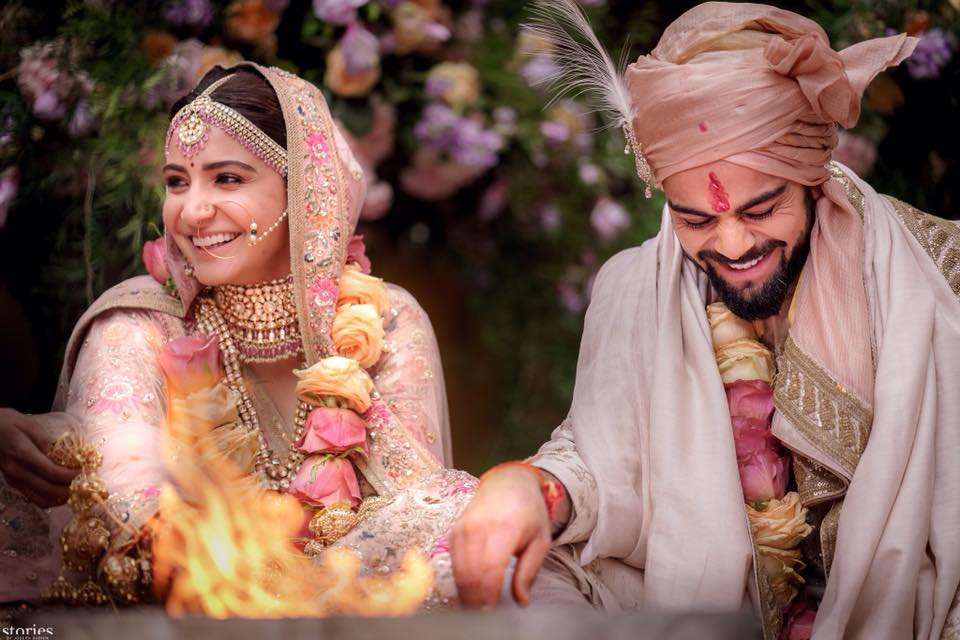Virat Kohli And Anushka Sharma Marriage Photos